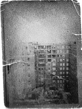 Dolphin Square Bomb Damage Photo courtesy of Mr. Archie Hancock