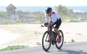 Juan Garcia Ironman Cozumel cycling