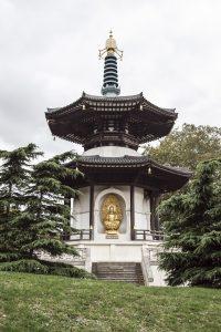 Peace Pagoda, Battersea Park, London