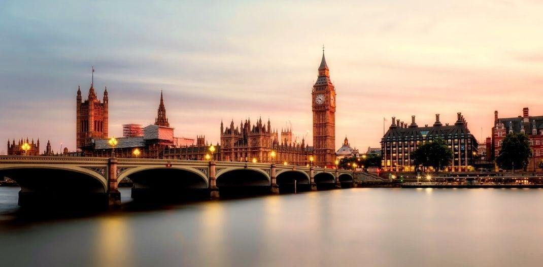 Westminster Bridge Landscape