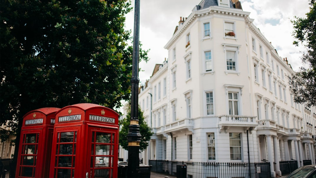 Finding an apartment in London