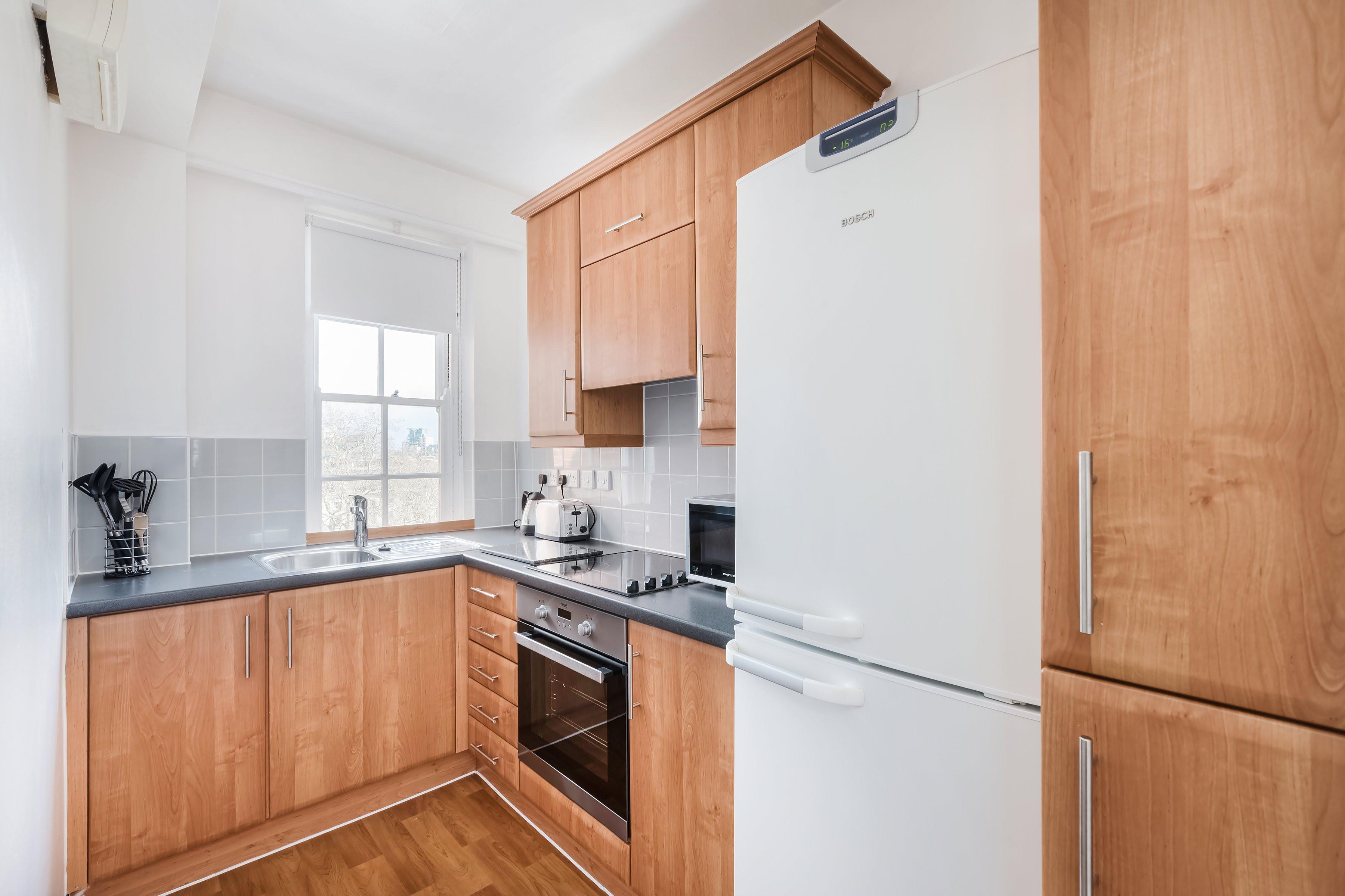 Pantry style kitchen